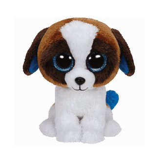 Harga Ty Beanie Boos Series Big Eyes Duke Dog Doll