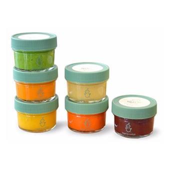 Sage Spoonfuls Baby Food Storage, Glass 4 oz (Pack of 6) - intl - 2