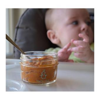Sage Spoonfuls Baby Food Storage, Glass 4 oz (Pack of 6) - intl - 3