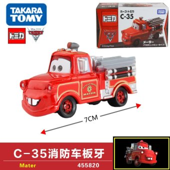 Harga Tomy alloy car models racing cars c-35 fire truck die 455820 boy toy
