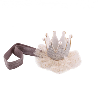 Harga Jetting Buy Baby Crown Headbands Elastic Silver