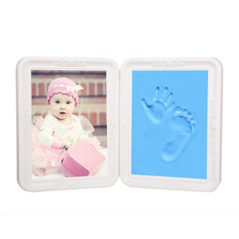 Harga Baby Casting Impression Kit for Baby Boy/Girl Handprint or Footprint Baby Hand Casting Hand Foot Print Photo Frame Picture Frames Kit Set Keepsake Gift - intl
