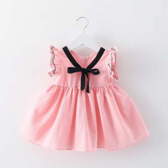 Baby Girl Summer Fashion Dress (EXPORT) - Intl