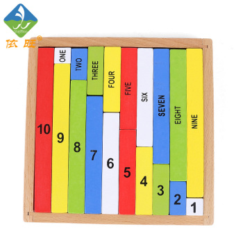 Harga Toy Woo Montessori teaching aids digital stick baby children's building blocks early childhood educational digital toys Sudoku chess toys Arithmetic
