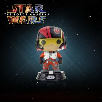 Harga Funko POP Star Wars: Episode VII - The Force Awakens Poe Dameron Action Figure Collection Bobble-Head Decorative Article - intl
