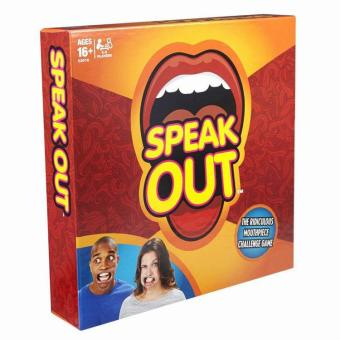 Speak Out Game Board Game Interesting Party and Family Funny Game 400 Magic Watch Ya Mouth - intl
