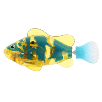 Harga Activated Battery Powered Robo Fish Toy 2#