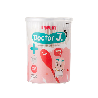 Harga Doctor J. Ultra thin Cotton Swap x 3 Cans