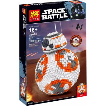 Harga LELE 35020 BB-8 (Star Wars UCS) Building Block Set