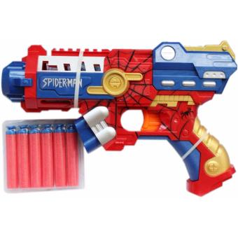 Soft Bullet Nerf Gun Style Toy Gun Avengers Series (Spiderman)