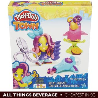 Harga Hasbro Play-Doh Playdoh Town Hairdresser and Bird (Cheapest in SG)