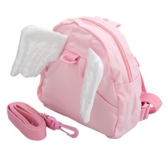 leegoal Pink Safety Angel Wings Backpack Harness For Toddler Kids -intl - 2