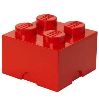 Harga LEGO Storage Brick 4 (Red)