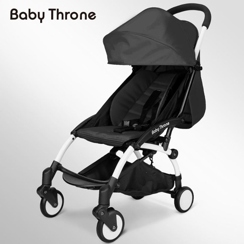 LKN Lightweight folding stroller Portable Travel Baby Stroller (With 6 practical gift accessories) - intl Singapore