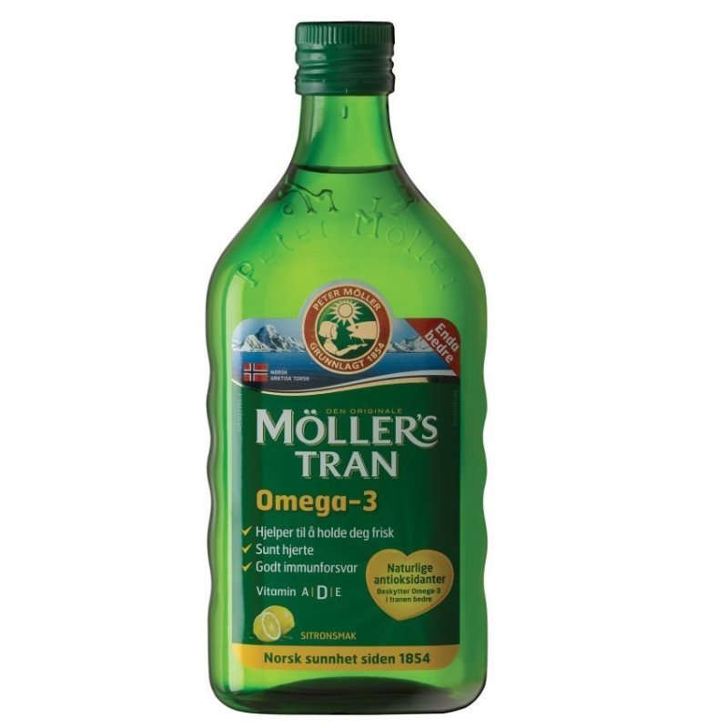 Buy Möllers Omega-3 Cod Liver Oil - Lemon Singapore