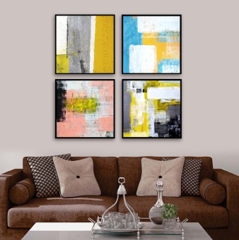 Modern Simple Abstract Painting Framed Painting The Living Room Painted  Paintings Entrance Restaurant Children U0026 39 Part 89