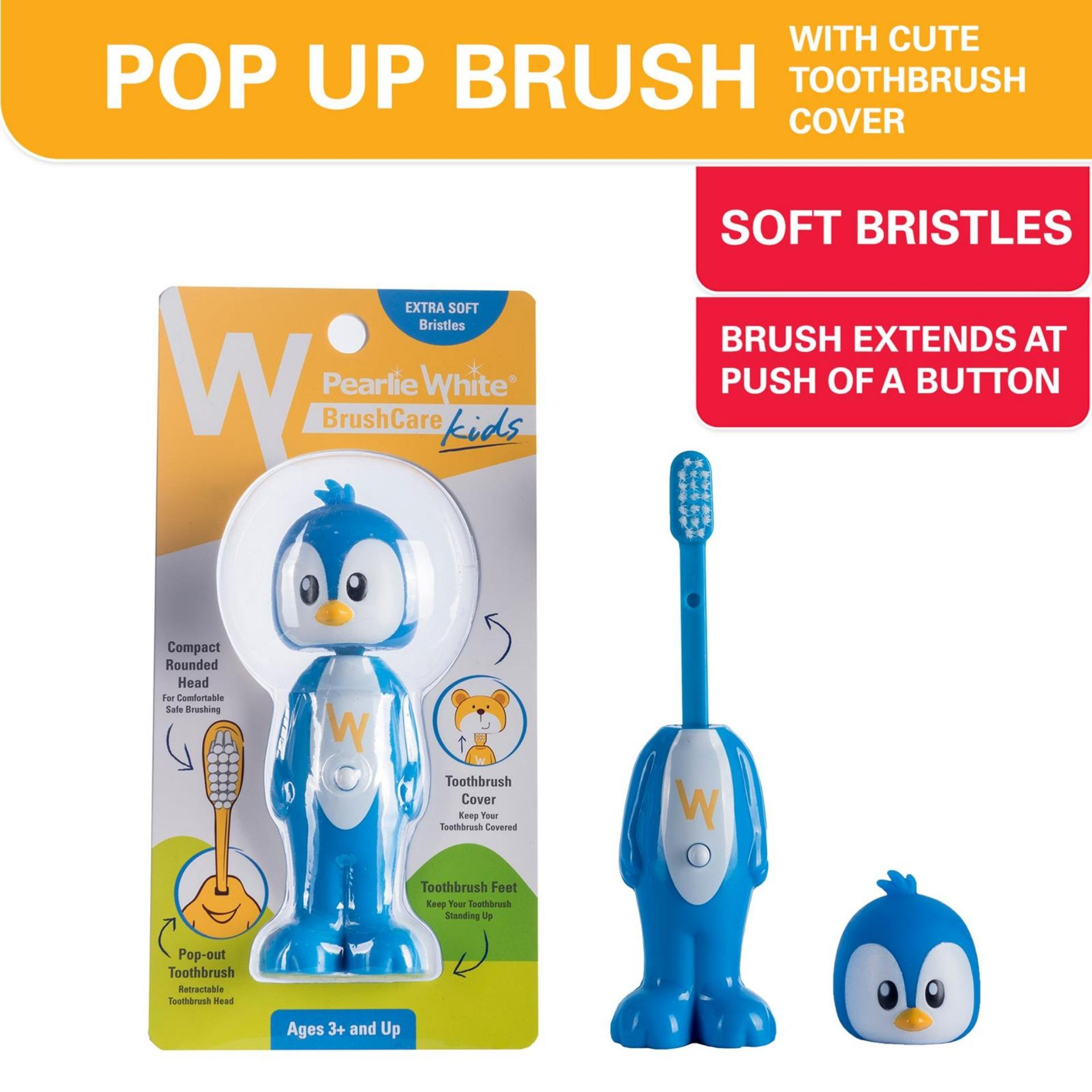 ... Pearlie White BrushCare Kids Toothbrush - Penguin ...