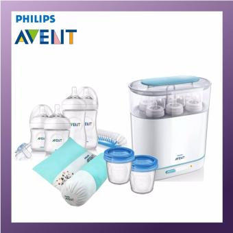 philips avent express electric steriliser instructions