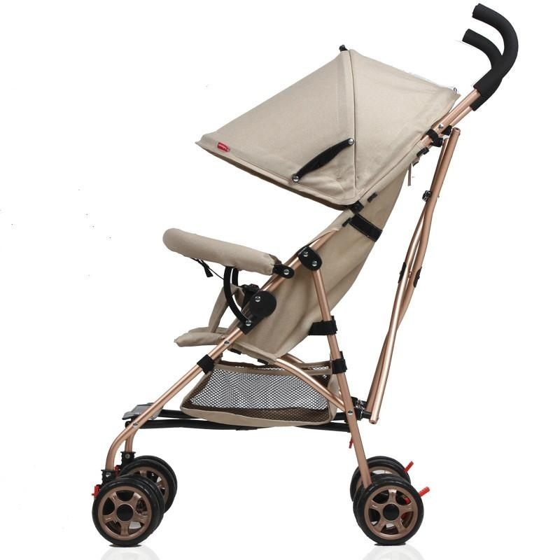 Portable Folding Folding Shock Proof Trolley for Baby Stroller 4.2KG - intl Singapore