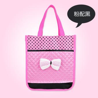 Primary school tutoring bag hand bag children's tuition bag menKorean-style makeup bag female shoulder messenger hand bag