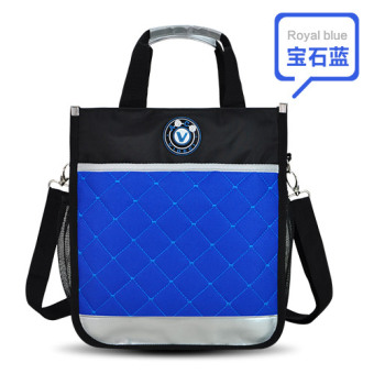 Primary school tutoring bag hand bag children's tuition bag menKorean-style makeup bag female shoulder messenger hand bag