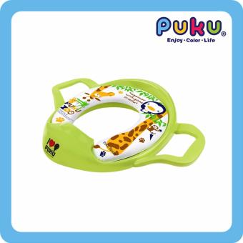 PUKU Soft Potty Seat With Handles Green