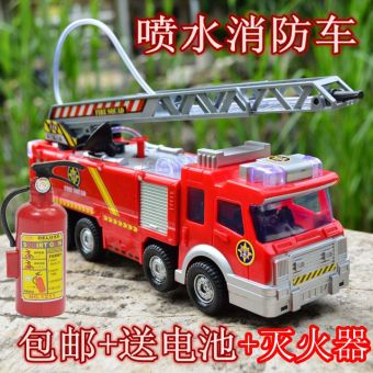 Harga Sam electric music fire car toy
