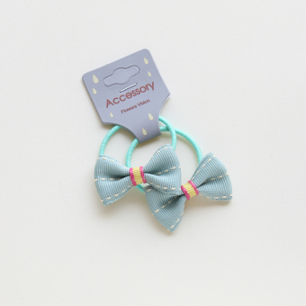 Small baby girls butterfly knot hairband hair band
