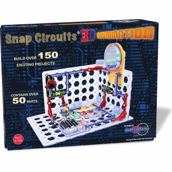 Snap Circuits 3D Illumination Electronics Discovery Kit - NEW for2016