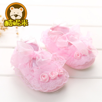 Soft bottom summer newborns embroidered Baobao toddler shoes Baby Shoes