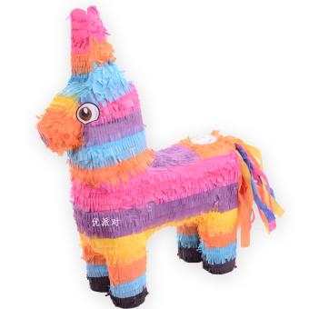 Sugar stick beat wealthy rainbow flower donkey party supplies