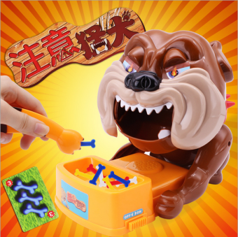 Tricky Biting Hand Dog Shape Game Toy