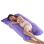 U shaped Body Support Mummy Pregnancy and Nursing Pillow Purple - Intl