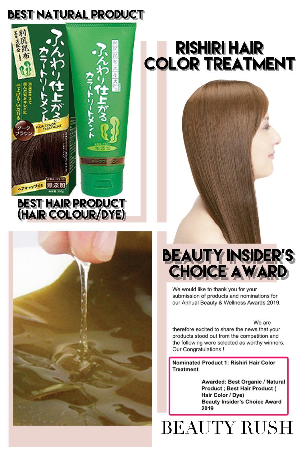 Natural Hair Coloring Products