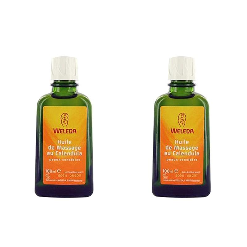 Buy 2 pcs Weleda Calendula Massage Oil 100ml - intl Singapore