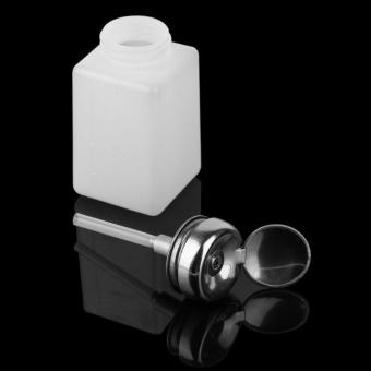 200ML Liquid Alcohol Press Nail Polish Remover Dispenser Pumping Bottle - intl - 5