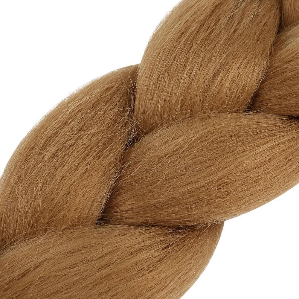 4Pcs Chromatic Synthetic Extension Braid Hair(#05) - intl
