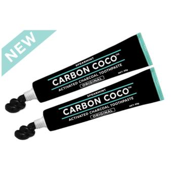 Harga ACTIVATED CHARCOAL TOOTHPASTE FLUORIDE FREE - DUO PACK