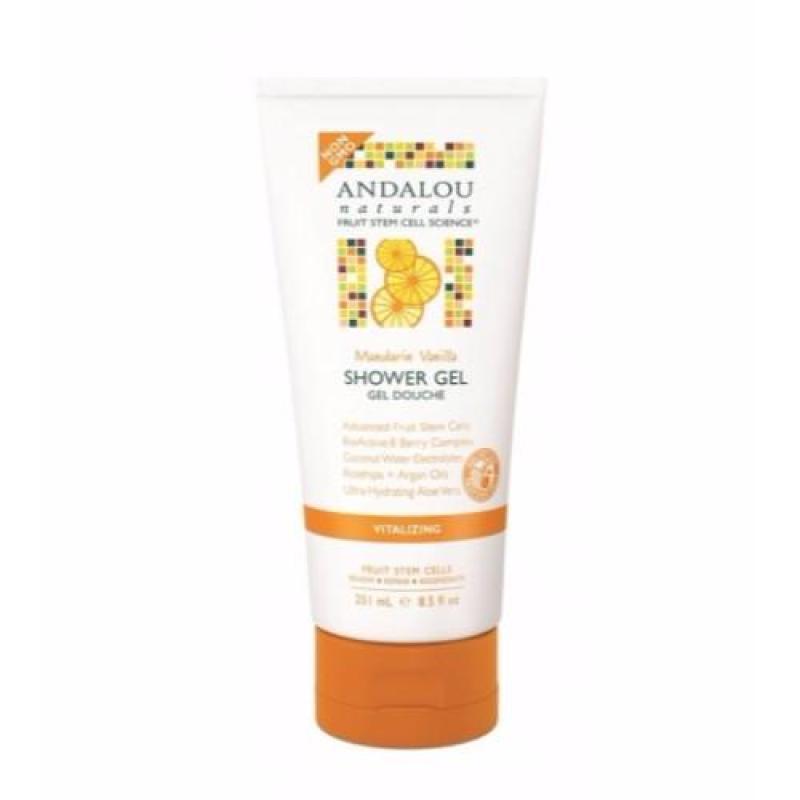 Buy Andalou Naturals Mandarin Vanilla Vitalizing Shower Gel Singapore