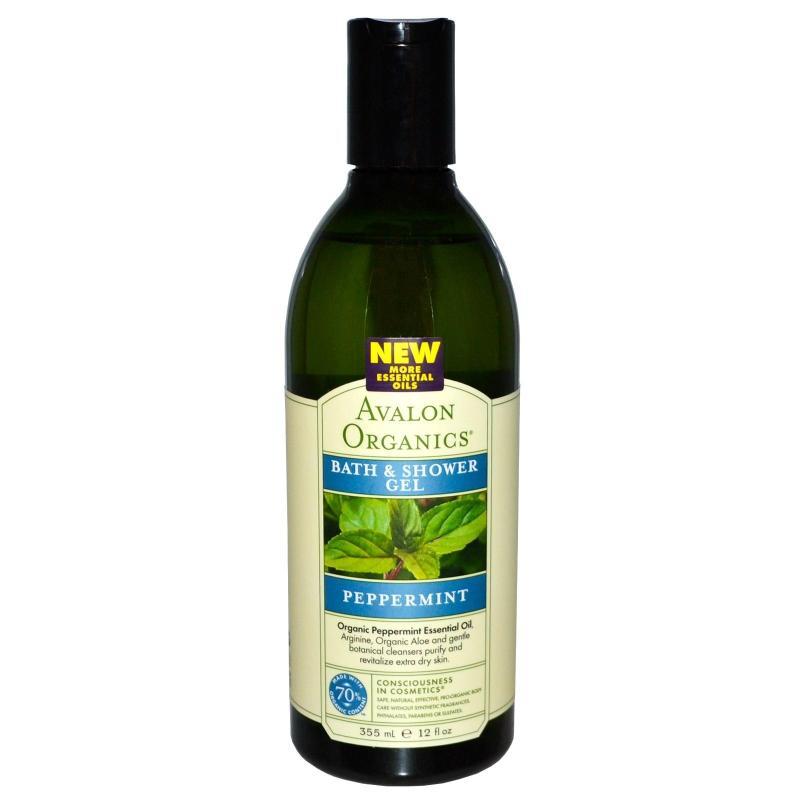 Buy Avalon Organics Peppermint Bath & Shower Gel Singapore