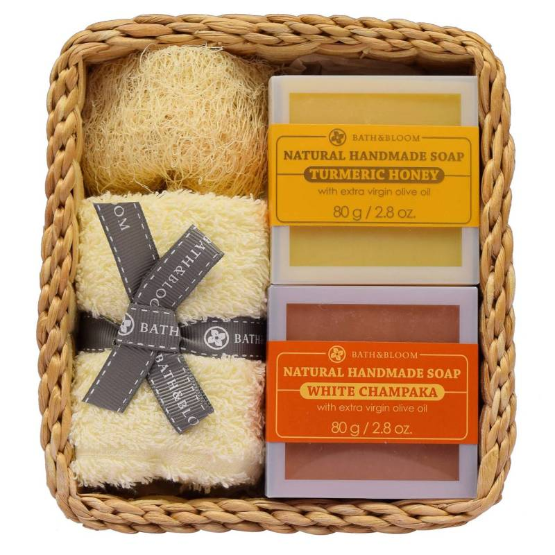 Buy Bath and Bloom 2 Soap Champaka and Tumeric Set Singapore