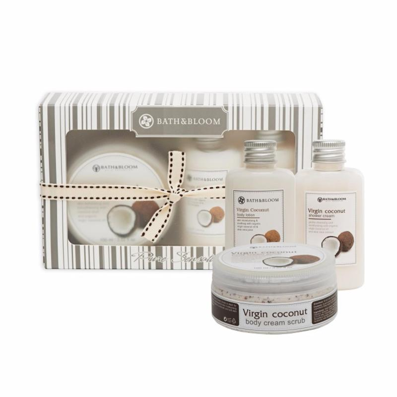 Buy Bath and Bloom Pure Virgin Coconut Box Set Singapore