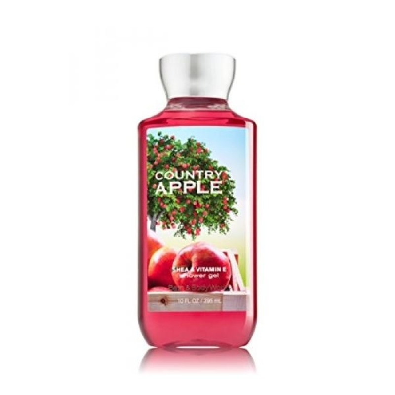 Buy Bath and Body Works Country Apple Shower Gel 10 Ounce Bottle - intl Singapore