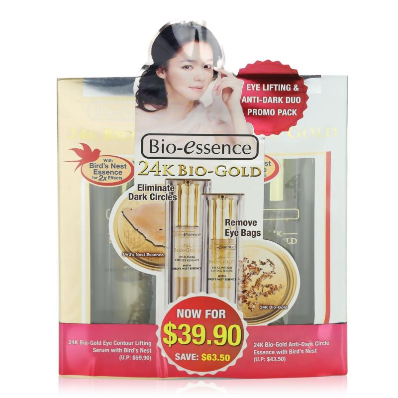 Buy Bio-essence 24K Bio-Gold Eye Lifting & Anti-Dark Duo Promo Pack 1set Singapore