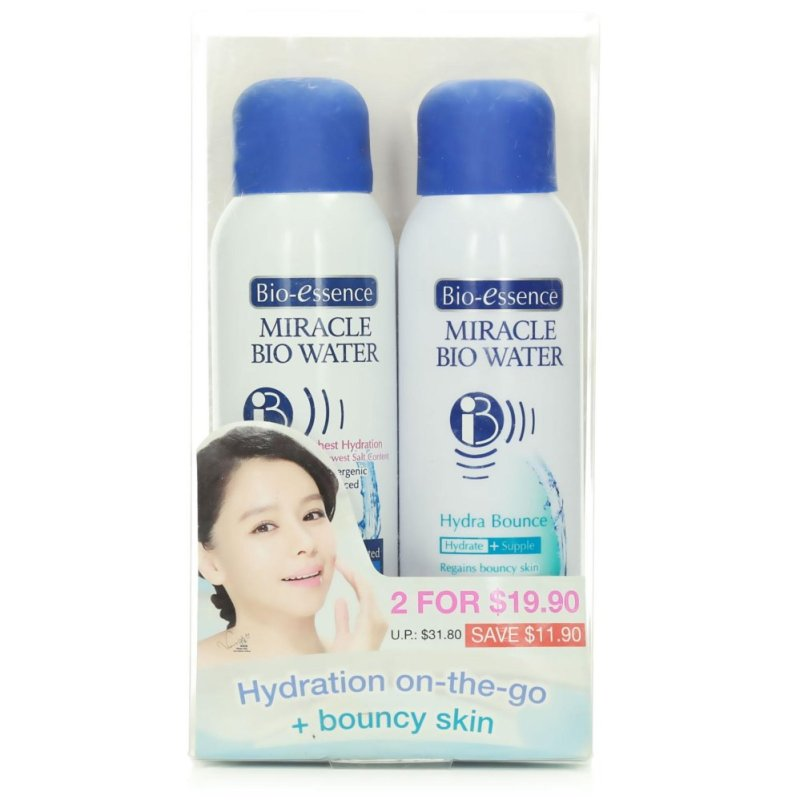 Buy Bio-essence Miracle Bio Water Pack(Hydration On The Go + Bouncy Skin 100ml) Singapore
