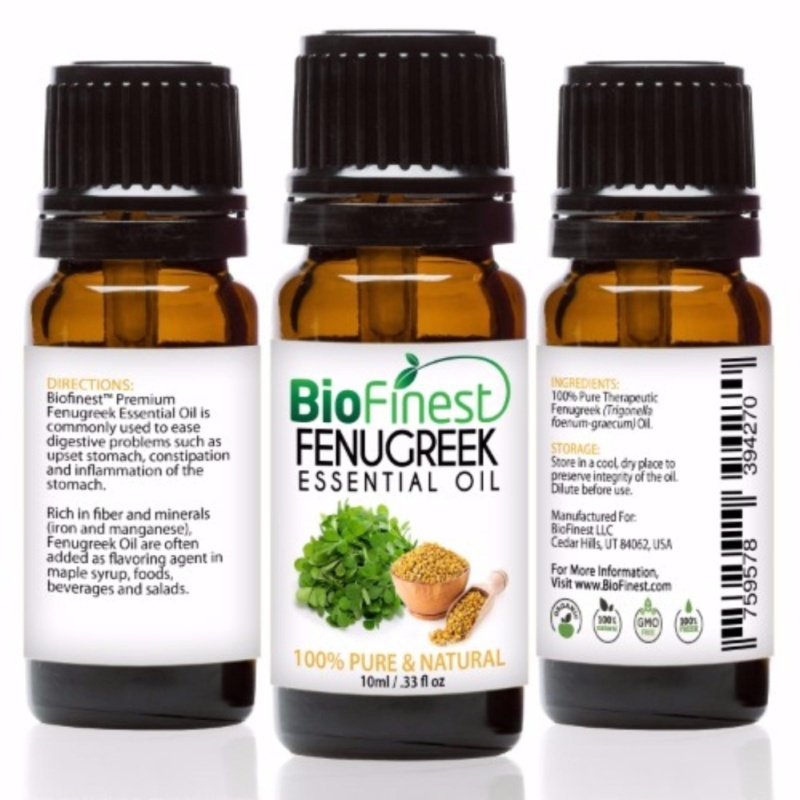 Buy Biofinest [2 Packs] Fenugreek Essential Oil (100% Pure Therapeutic Grade) 10ml Singapore