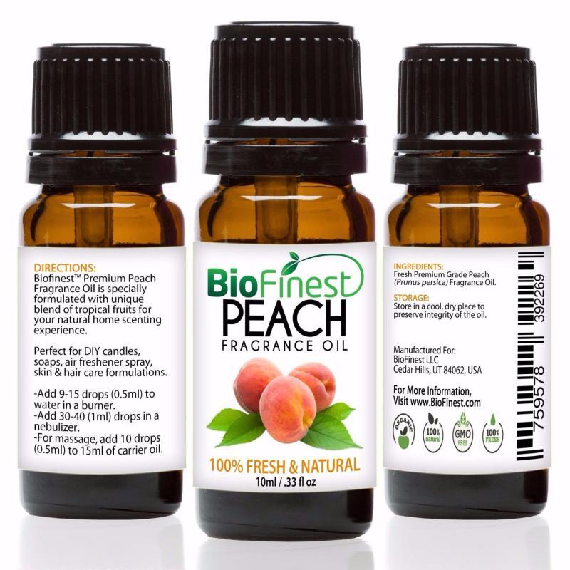 Buy Biofinest [2 Packs] Peach Fragrance Oil (100% Fresh and Natural Aroma Oil) 10ml Singapore