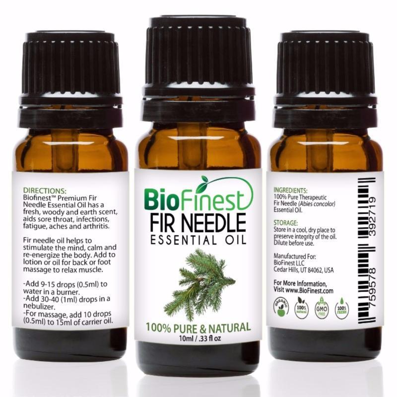 Buy Biofinest Fir Needle Essential Oil (100% Pure Therapeutic Grade) 10ml Singapore