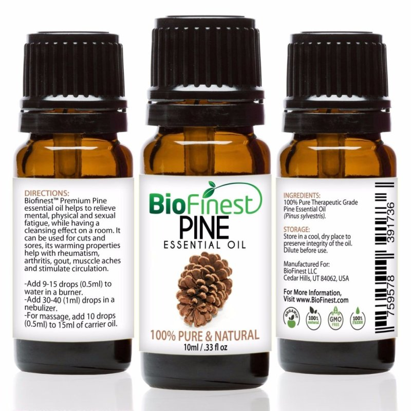 Buy Biofinest Pine Essential Oil (100% Pure Therapeutic Grade) 10ml Singapore