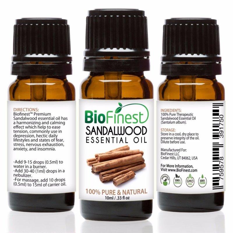 Buy Biofinest Sandalwood Essential Oil (100% Pure Therapeutic Grade) 10ml Singapore
